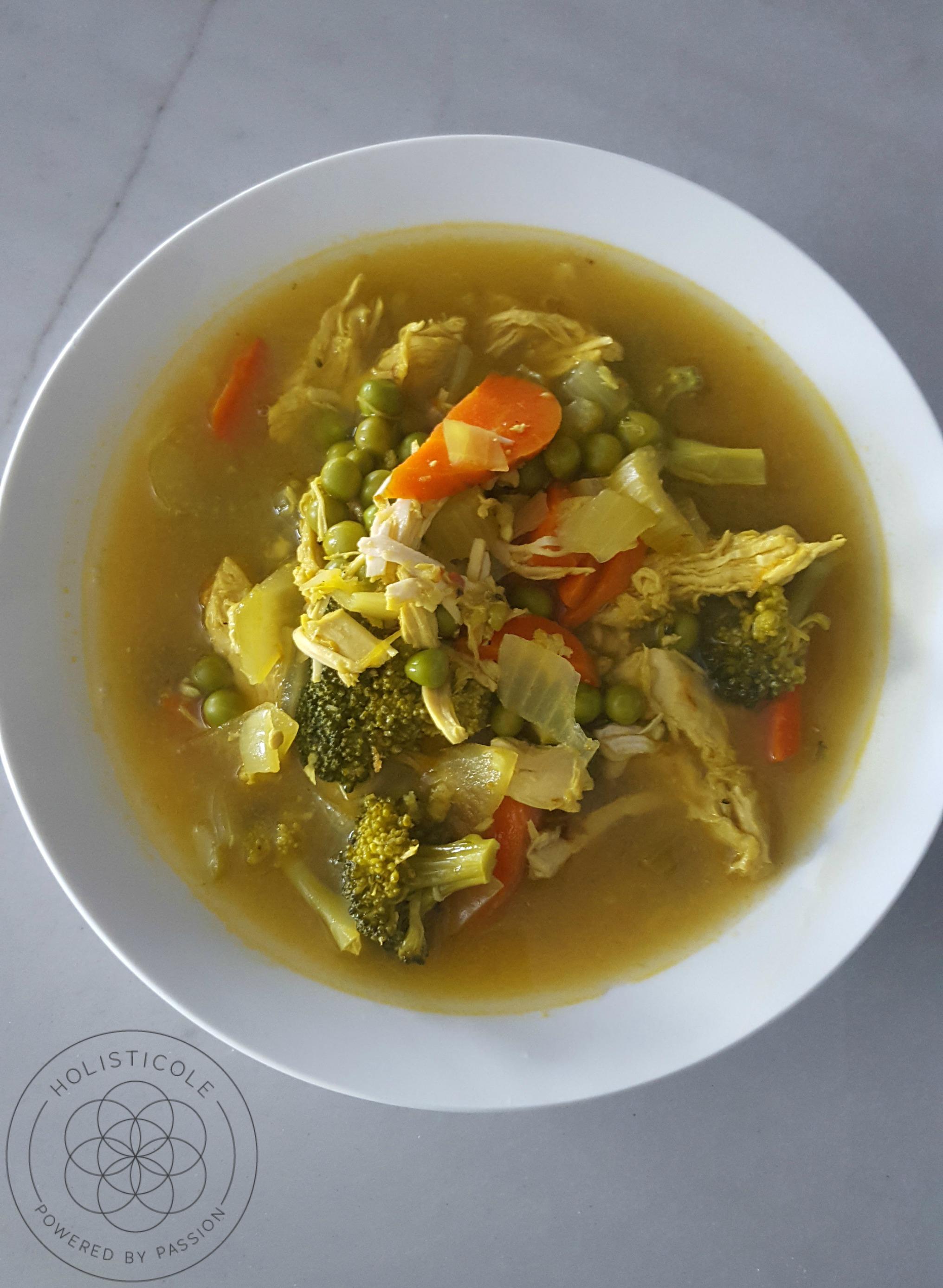 Chicken Detox Soup - Holisticole