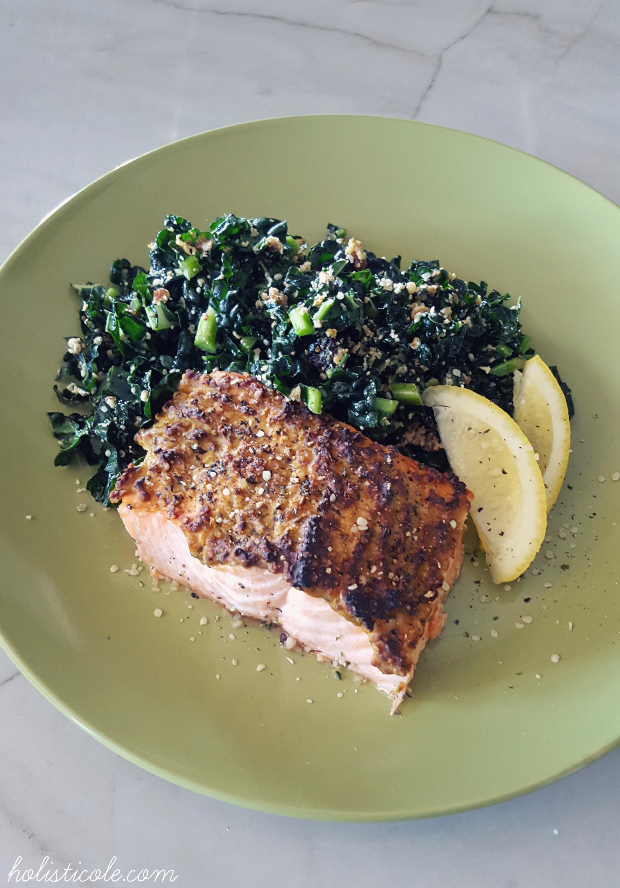 Hemp Crusted Salmon