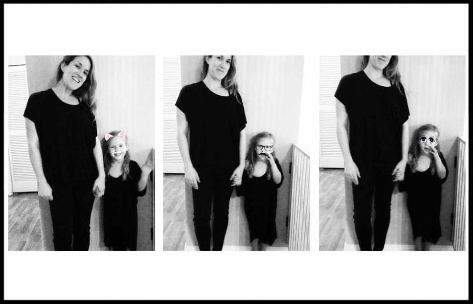 - Mother & Daughter dressing up in T by T