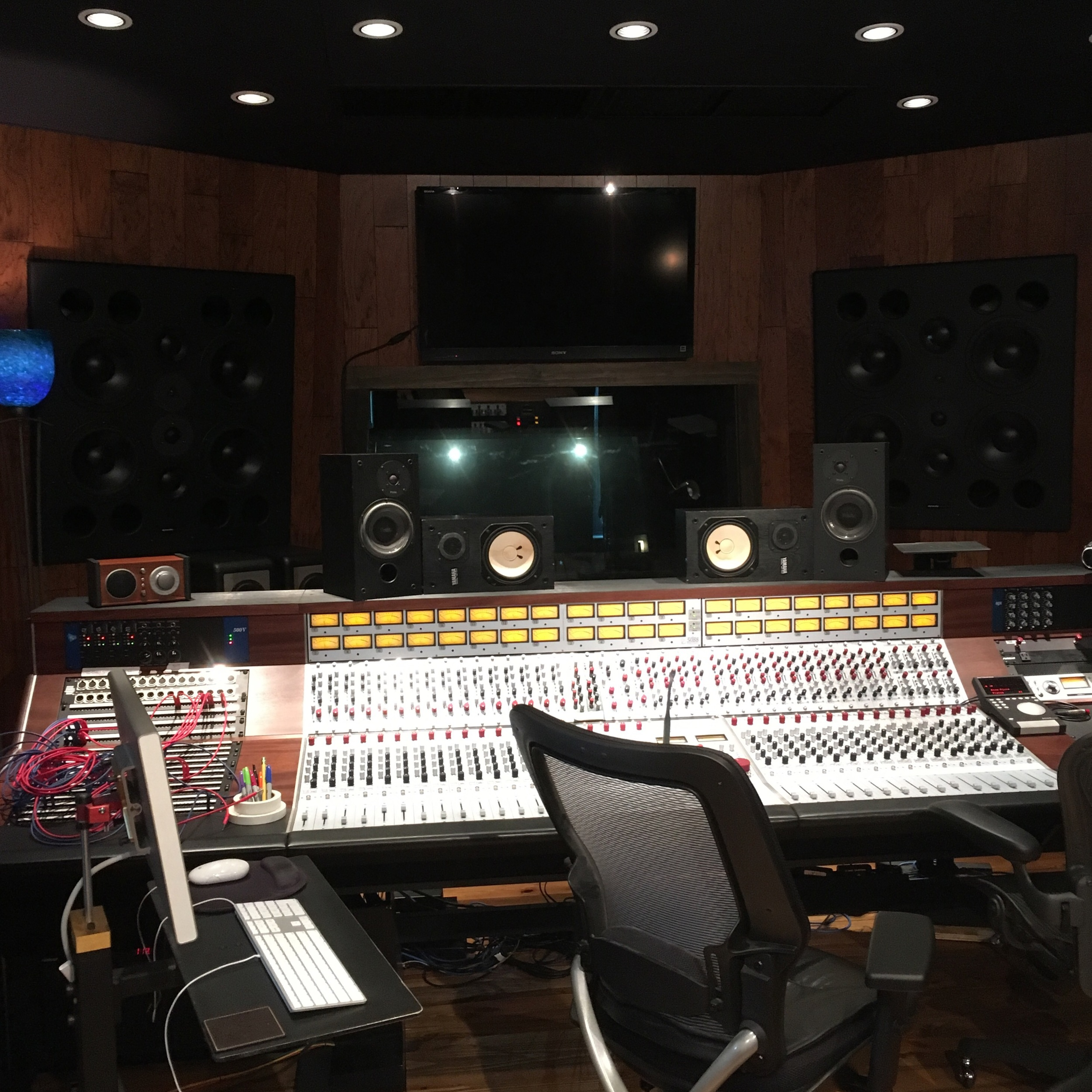 Neve console at Blue Rock.