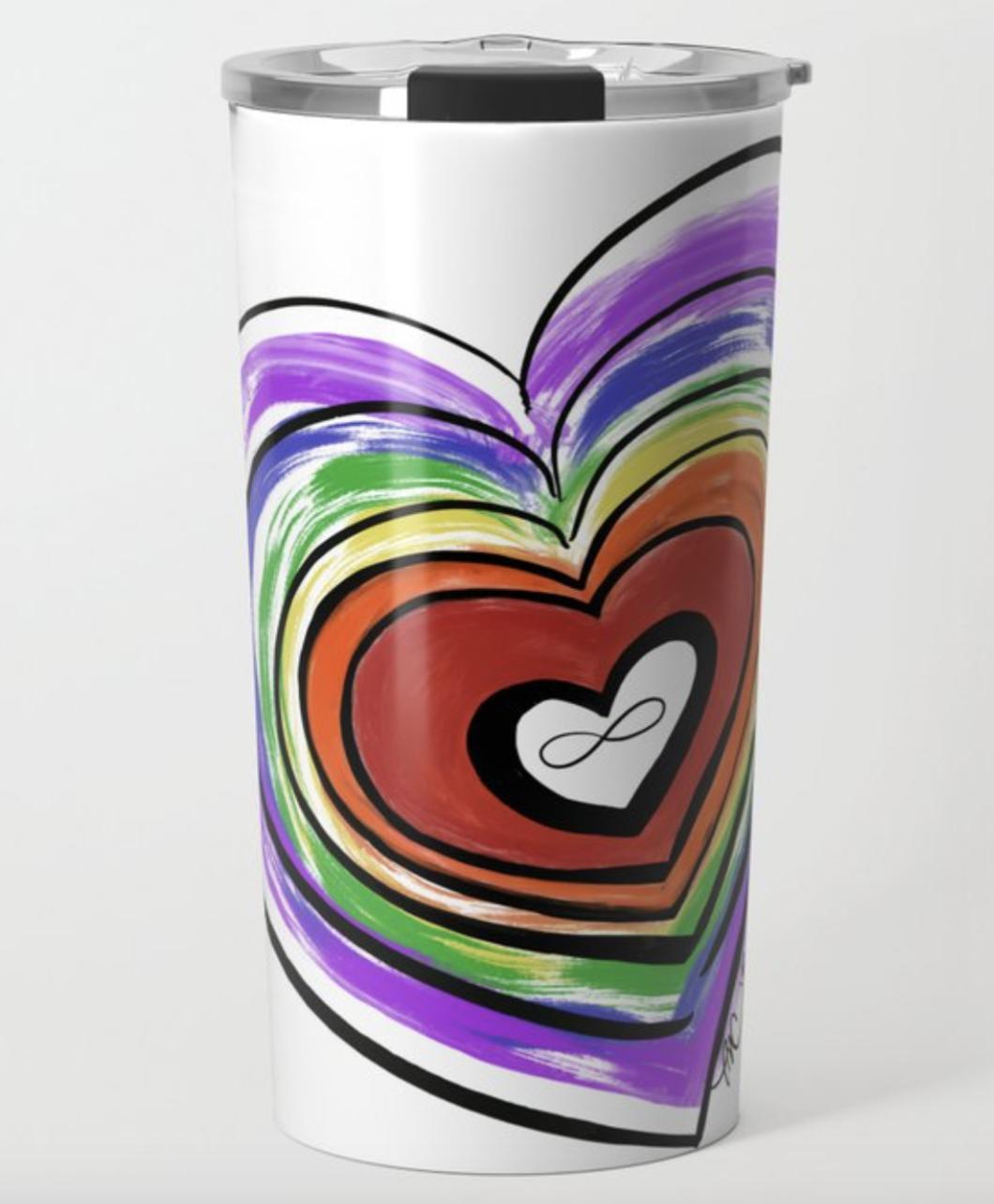 Spectrum Pride Travel Mug