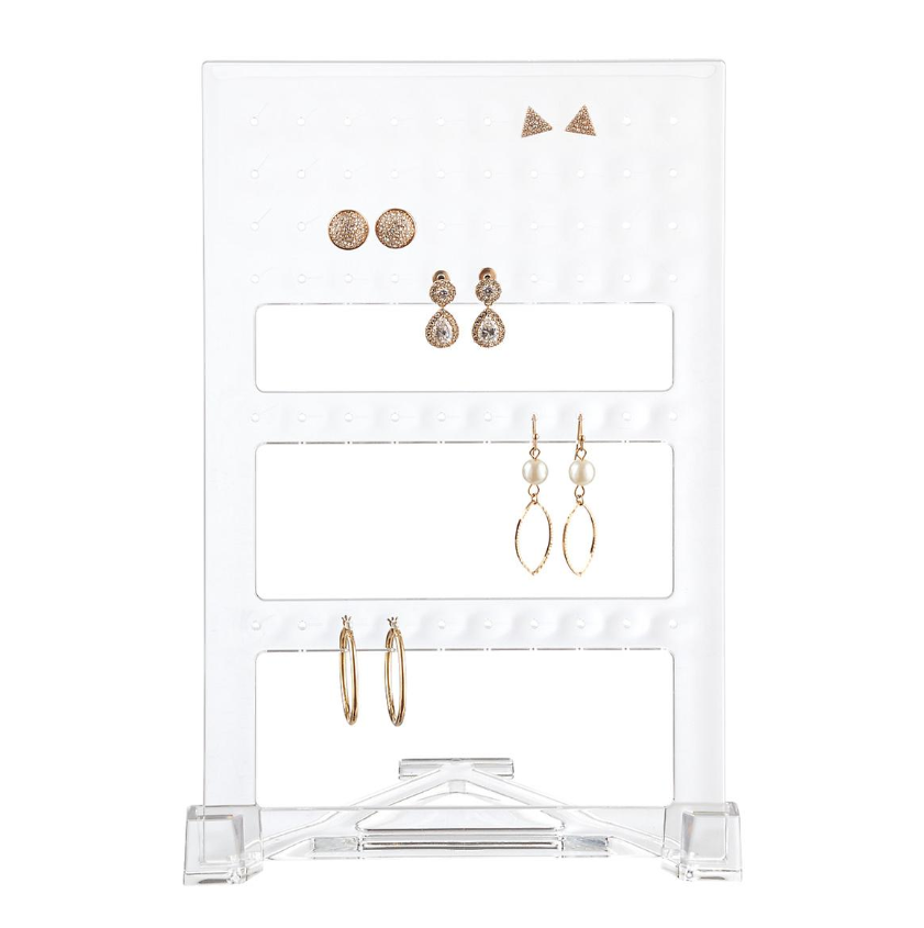 Acrylic Earring Organizer - Container Store
