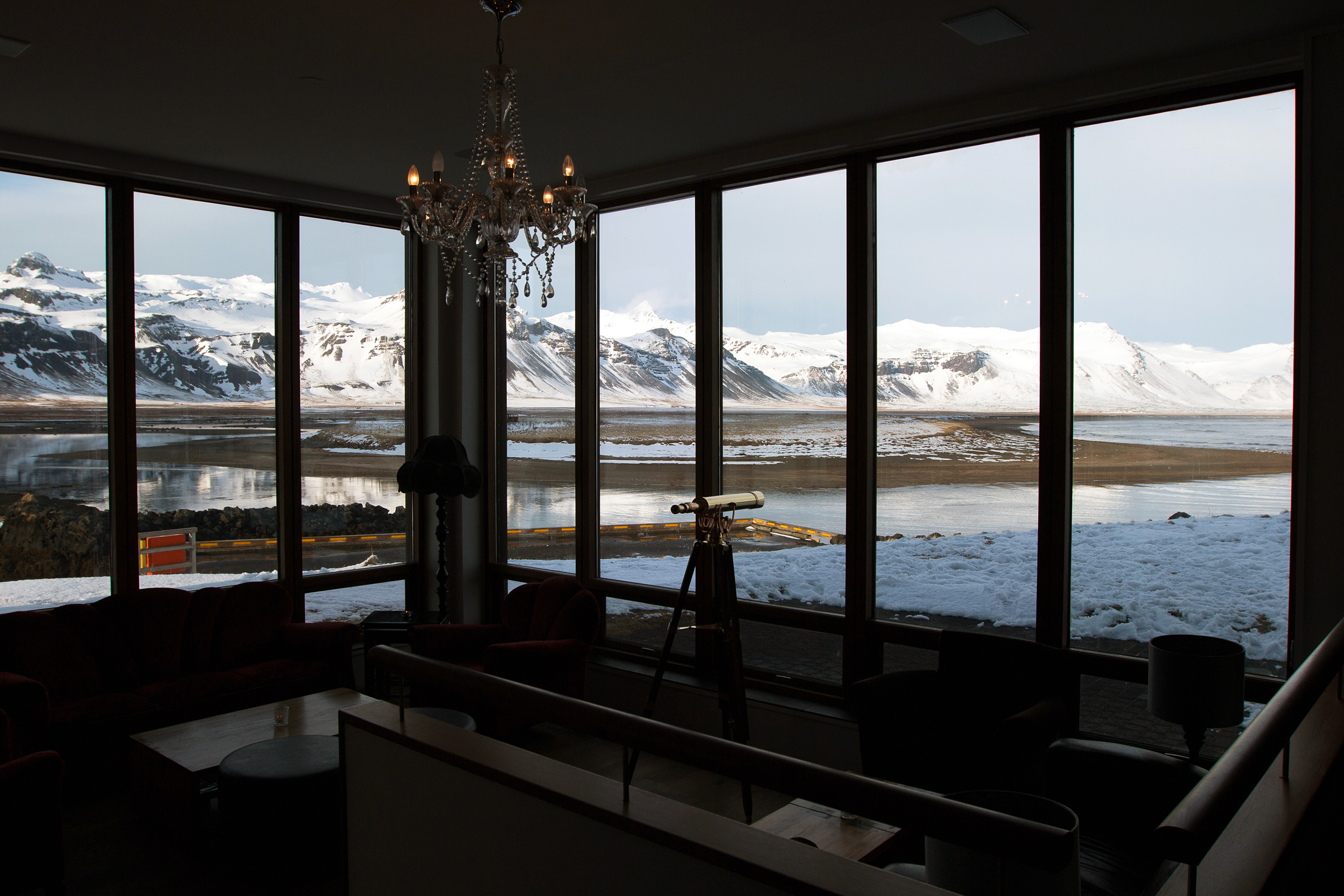 Hotel Búðir lounge