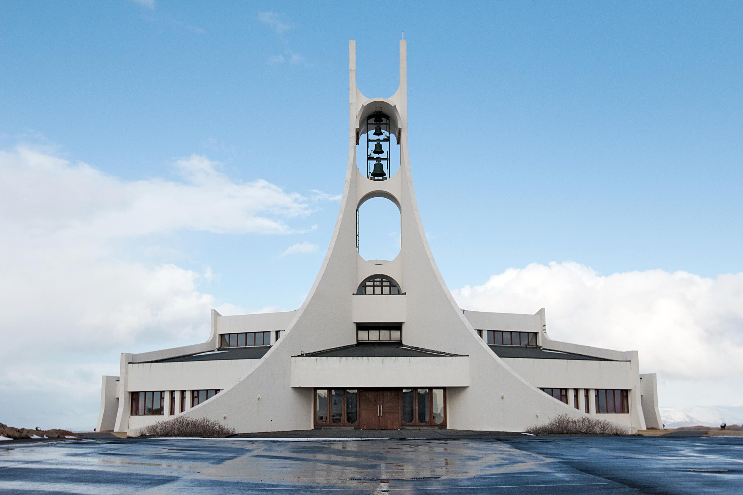 Stykkishólmskirkja Church in Stykkishólmur