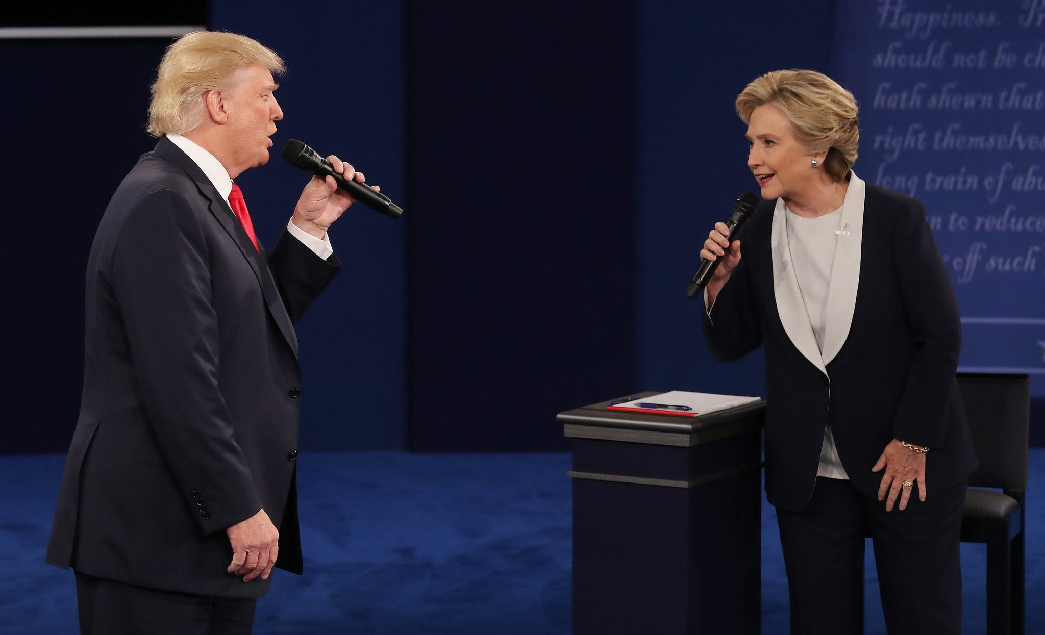 Star Spangled Donny and the Hill-Dawg share an unforgettable duet.