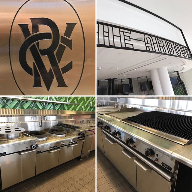 T H E  A R B O U R |  @flemingtonvrc is ready to open its doors this Spring Racing season. #commercialkitchens #kitchenequipment #madeinnelbourne #60years #vrc #flemington