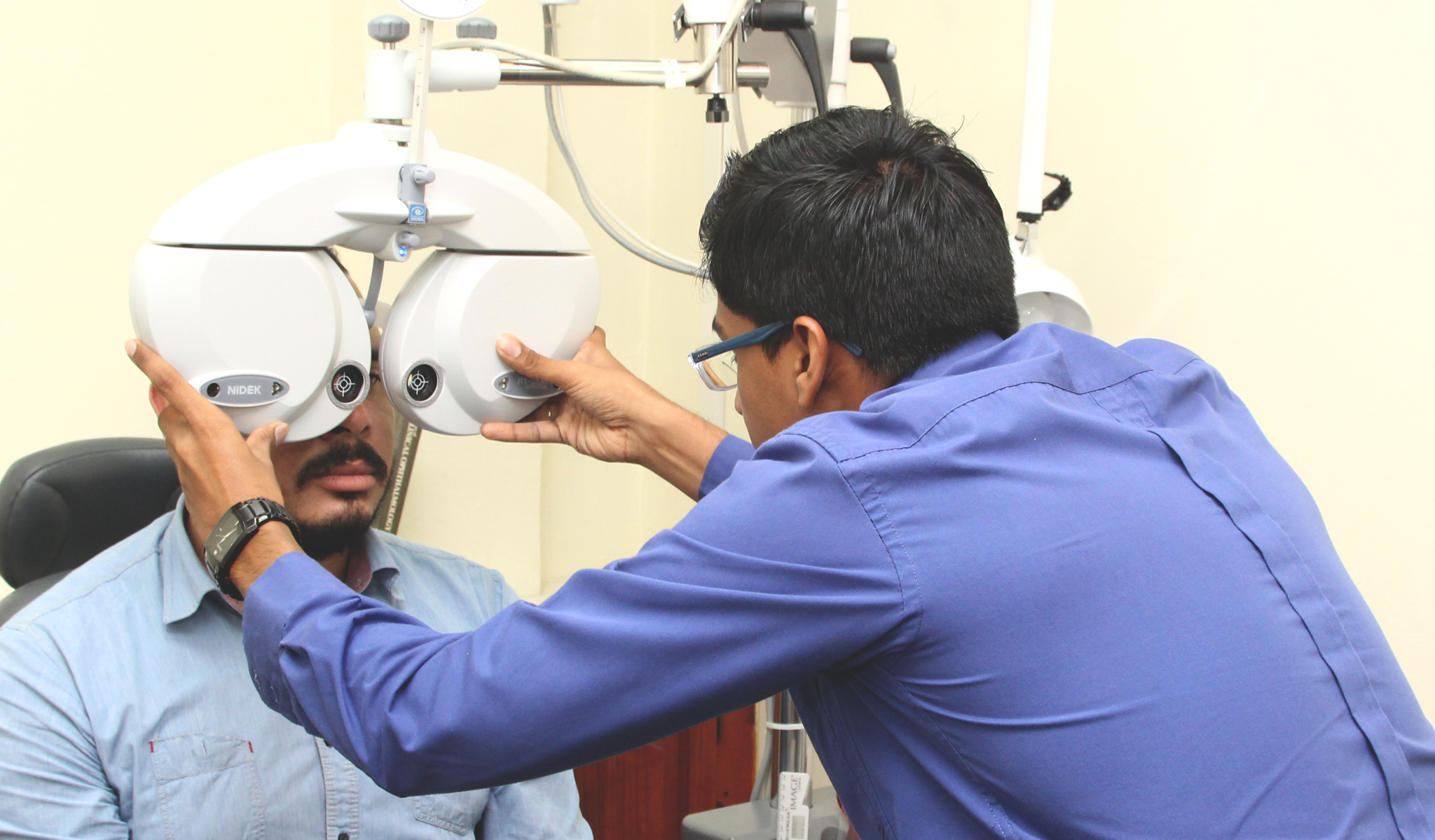 Our optometrists are happy to examine you, and ensure that your eyes are healthy and your vision is optimal.