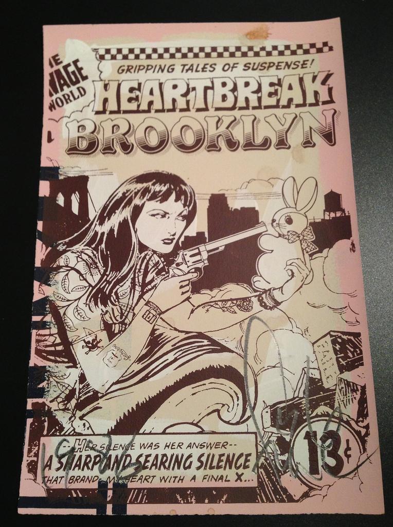 FAILE  |  Heartbreak in Brooklyn