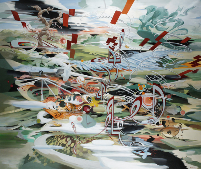 OLIVER VERNON  |  The Flood