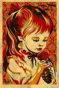 SHEPARD FAIREY  |  War By Numbers (offset)