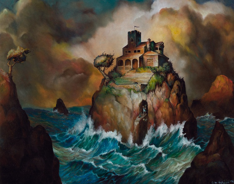 ESAO ANDREWS | Sea Villa   Giclee | Edition:80 | 16 x 20 |Signed and numbered