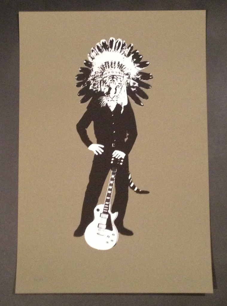 BRUCE HORAN     Rhythm Guide   Silkscreen   Edition: 50   13 x 19.25   Signed and Numbered