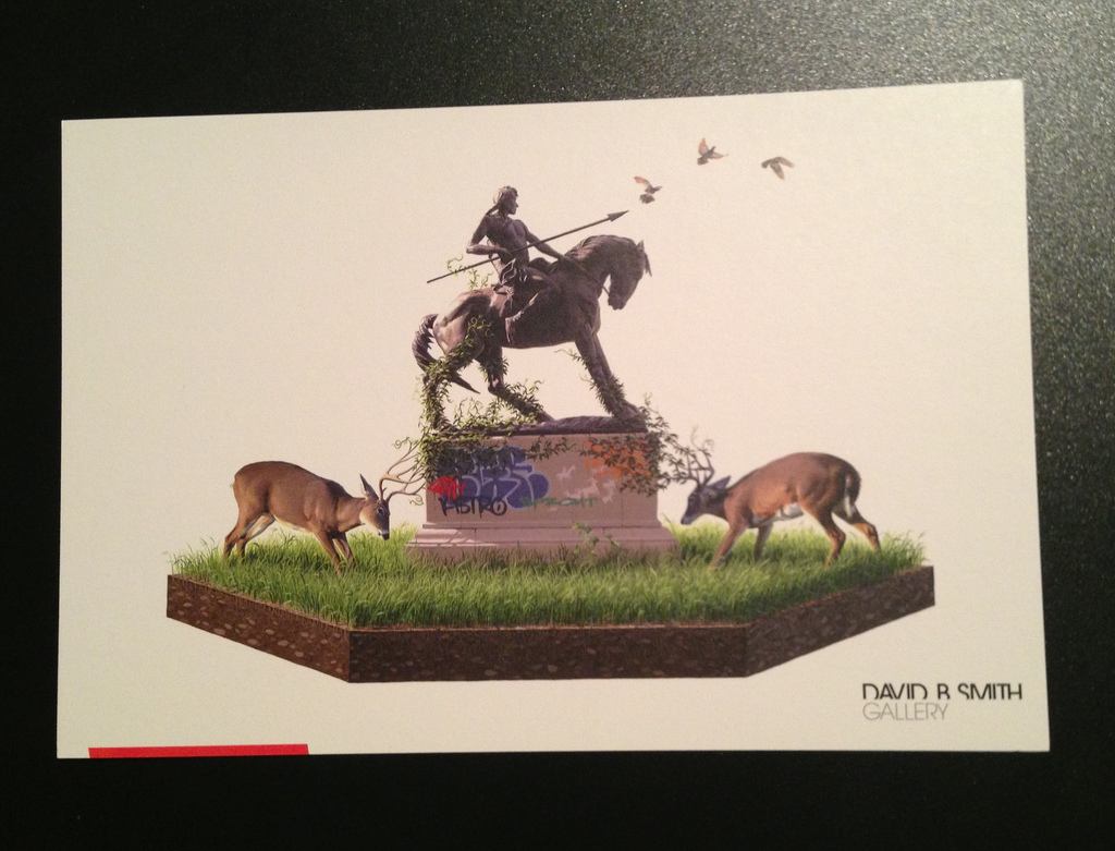 JOSH KEYES  |  Entangle Showcard   Lithograph