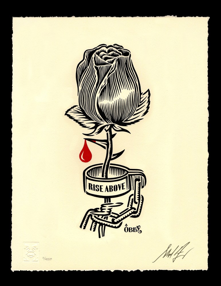 Shepard Fairey - Rose-Shackle Letterpress 2019.jpg
