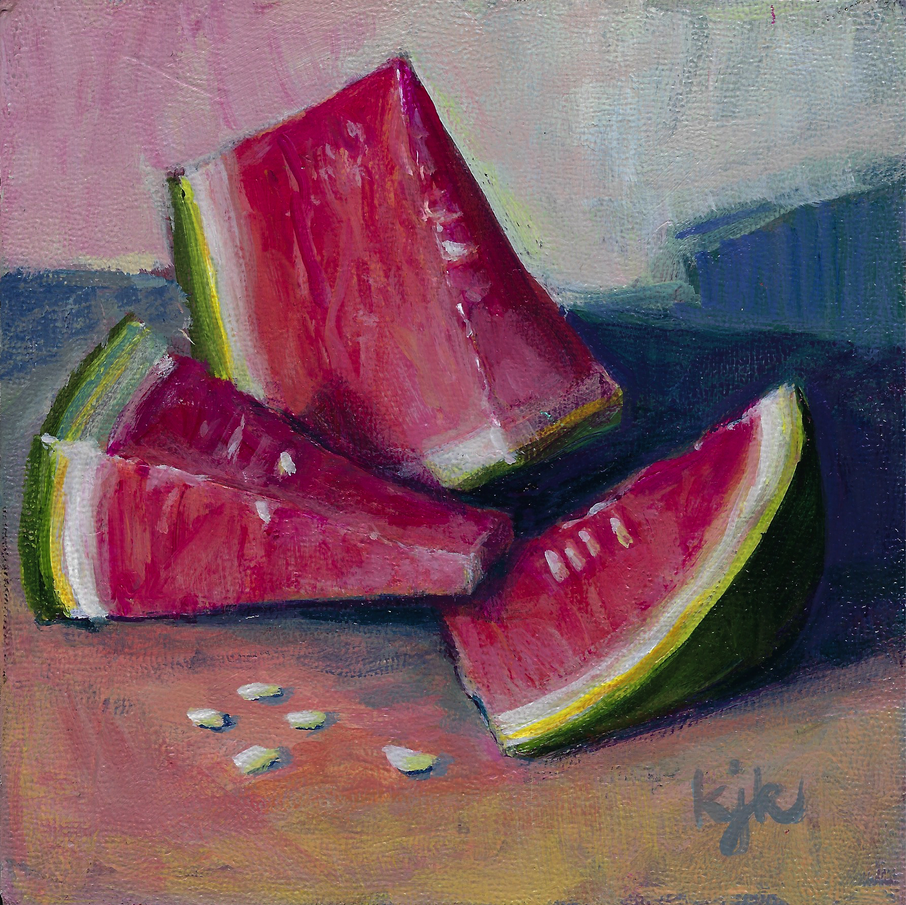 Watermelon Monoliths