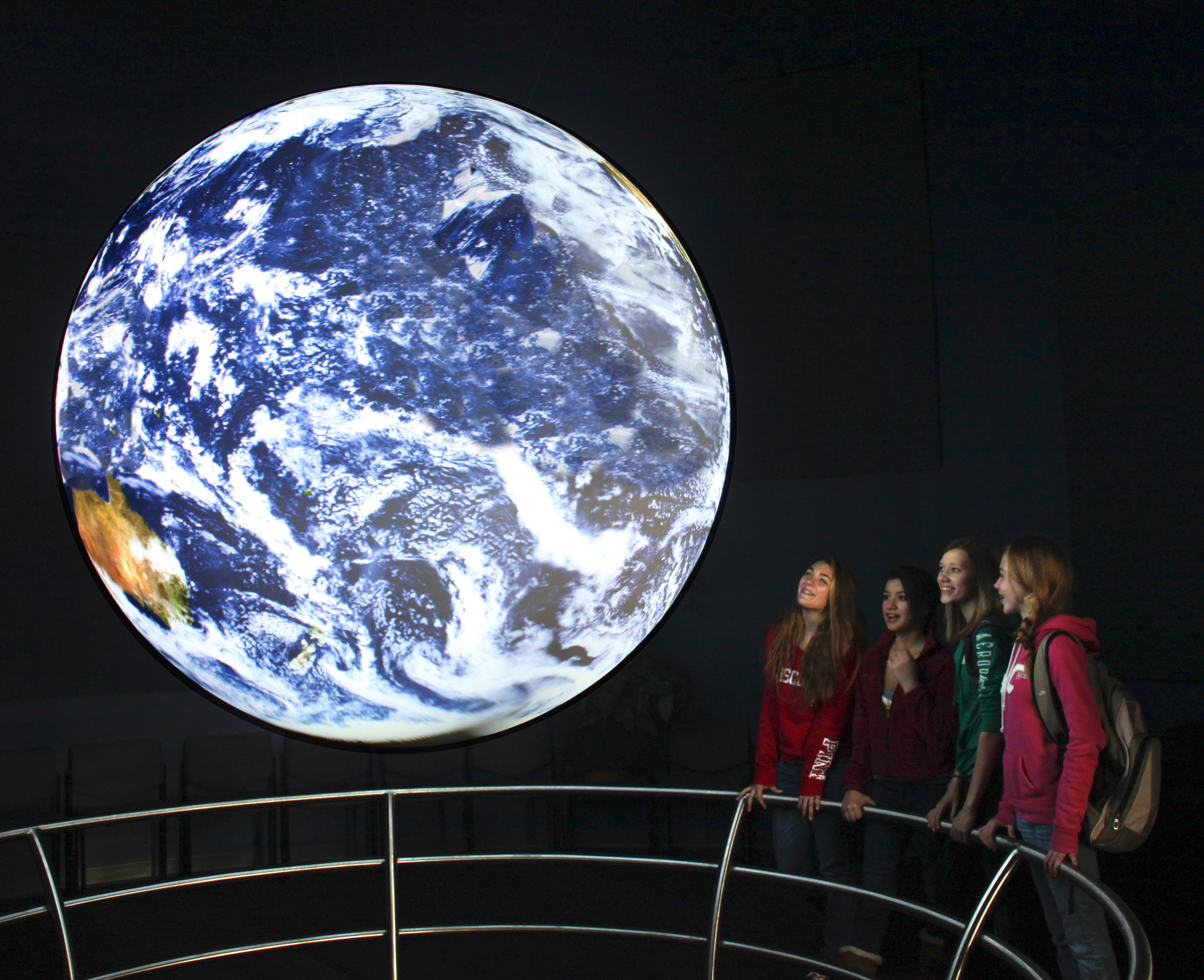 """The Climate Science Education Center   -- an interactive learning museum where """"High Tech meets High Touch!"""" features state of the art exhibits and multi-media experiences for all ages."""