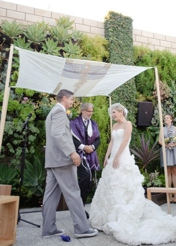 Floating Tallis Chuppah