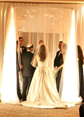 Leaf Applique Chuppah