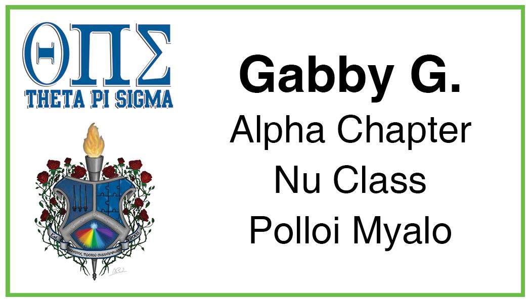 Gabby G.