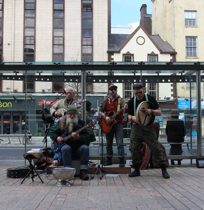 Street Performers in Ireland