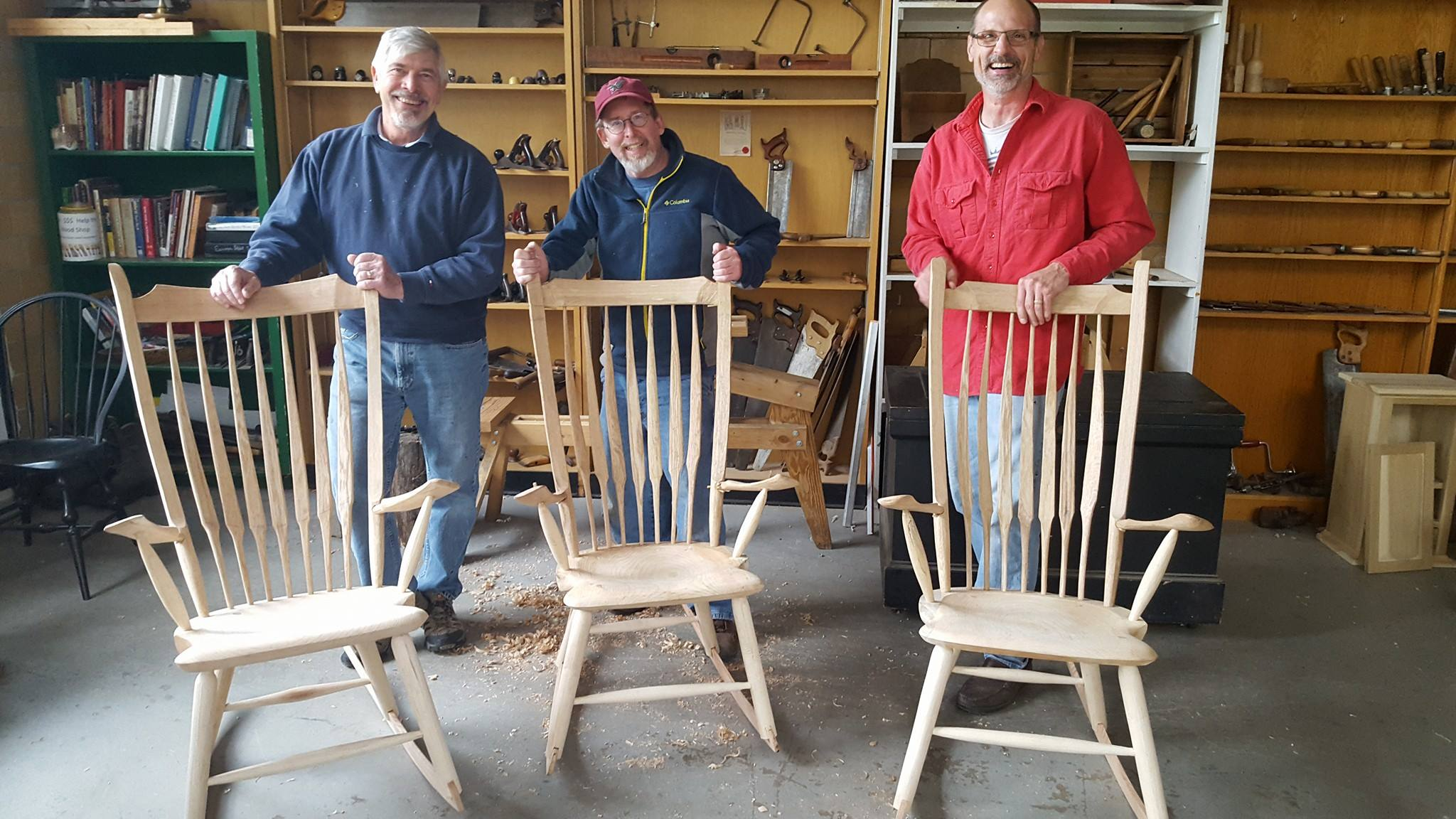 Windsor Chairmaking classes at the Sam Beauford Woodworking Institute