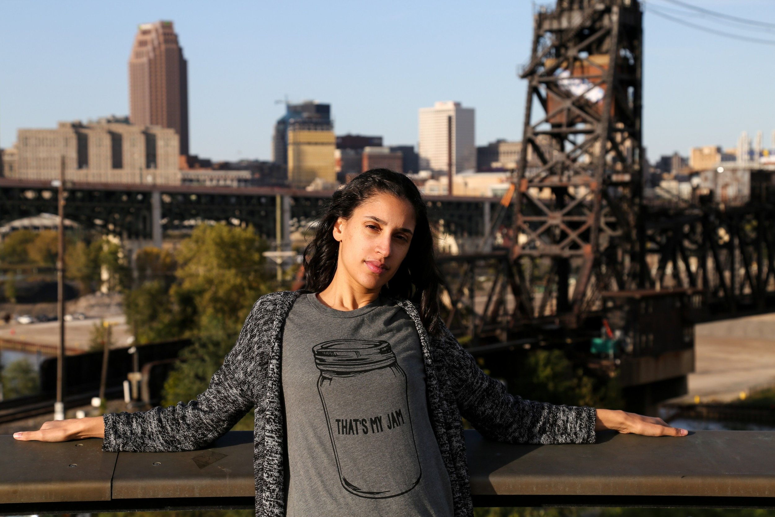 Photo by Bivens Photography. Shirt printed at    Fresh Lab Cleveland   .