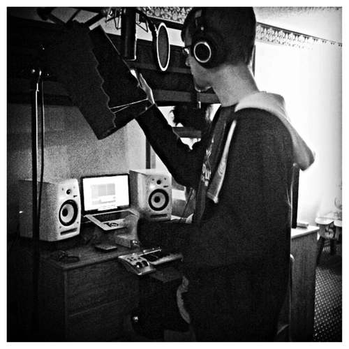 Jungle Hype & Illijam's first recording session in a Quality Inn room converted to a dorm room at Liberty University. (January 2013)  Here's that song!    https://www.youtube.com/watch?v=DXb8R-RgmKA