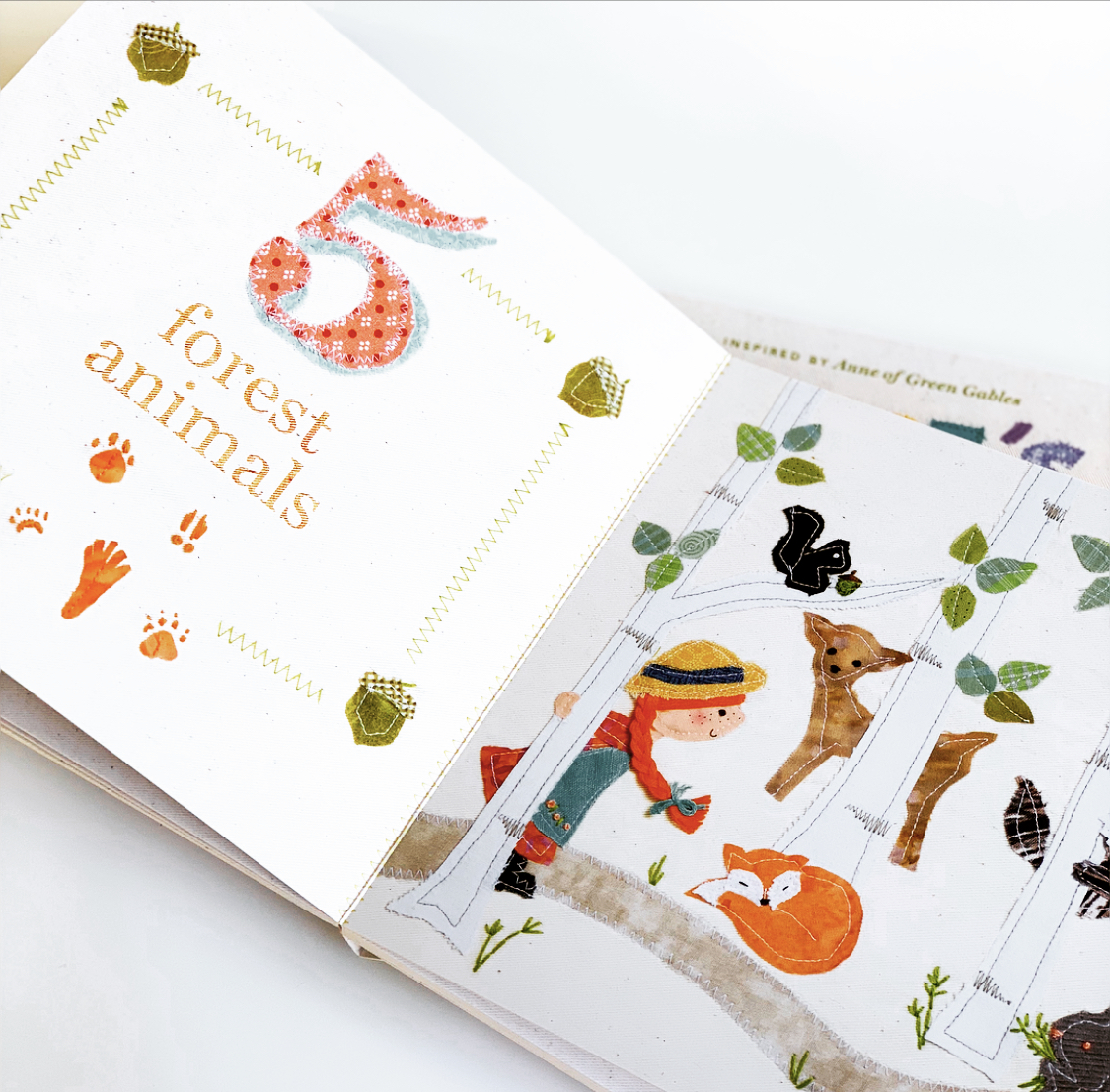 Each spread portrays a number with an adorable illustration.