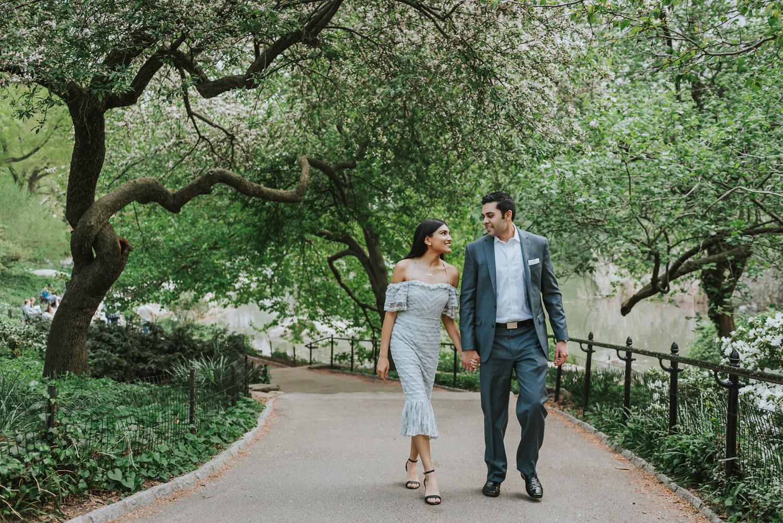 Vik Krishma Texas Couple New York City Central Park Proposal Engagement (8).jpg