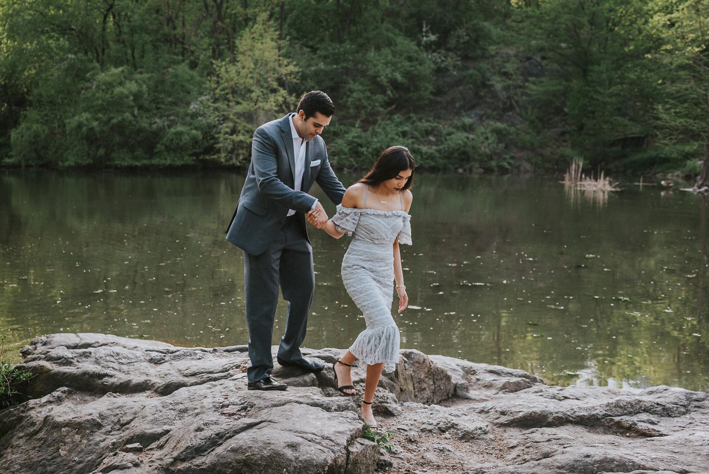 Vik Krishma Texas Couple New York City Central Park Proposal Engagement (11).jpg