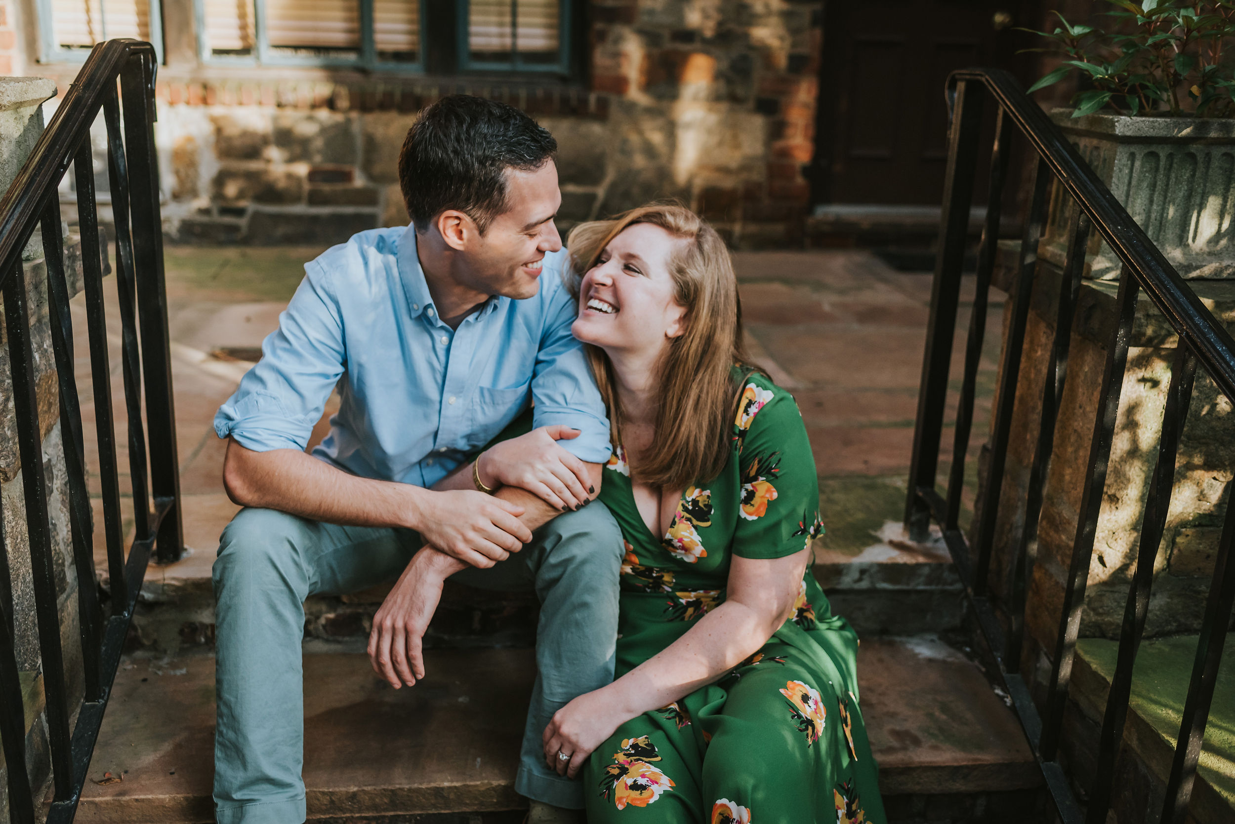 Abigail and Andrew Forest Hills Gardens Engagement NYC 05.jpg