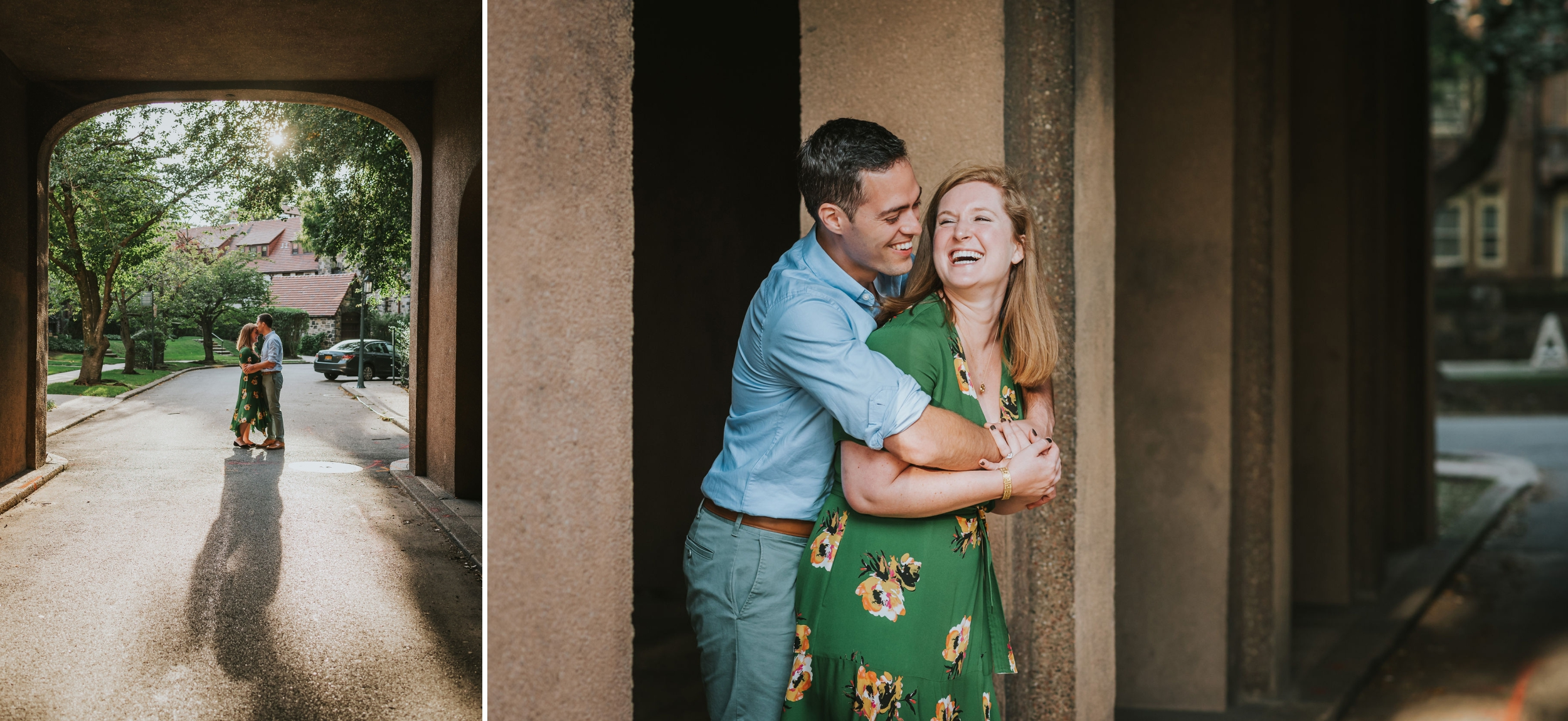 Abigail and Andrew Forest Hills Gardens Engagement NYC 08.jpg