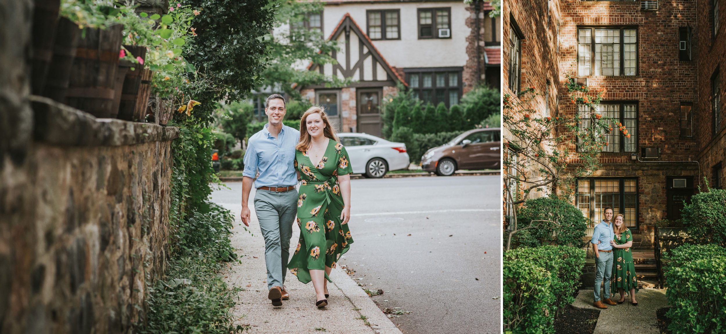 Abigail and Andrew Forest Hills Gardens Engagement NYC 14.jpg
