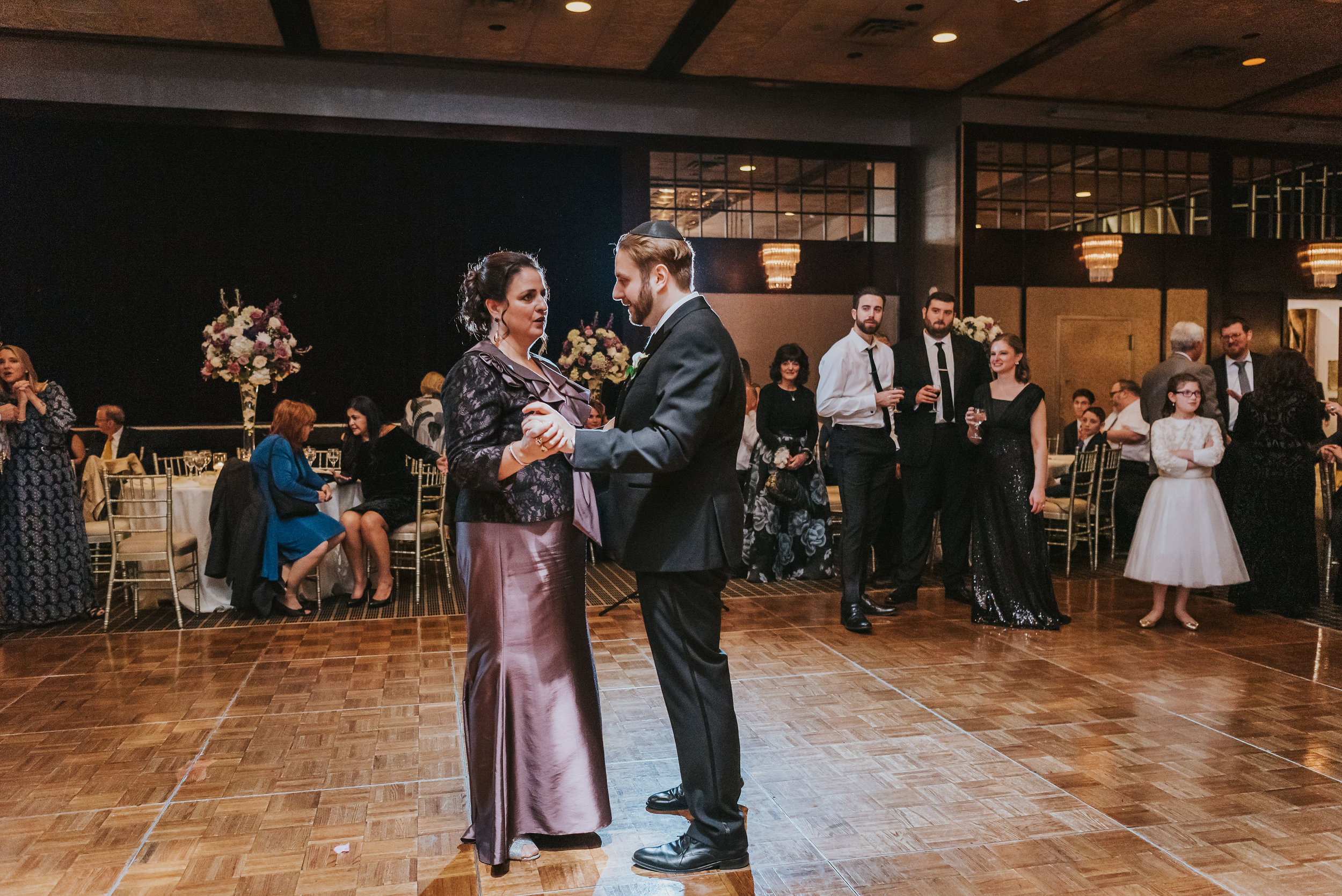 Ilyse and Max - The Sephardic Temple of Cedarhurst Wedding Long Island NYC 135.jpg