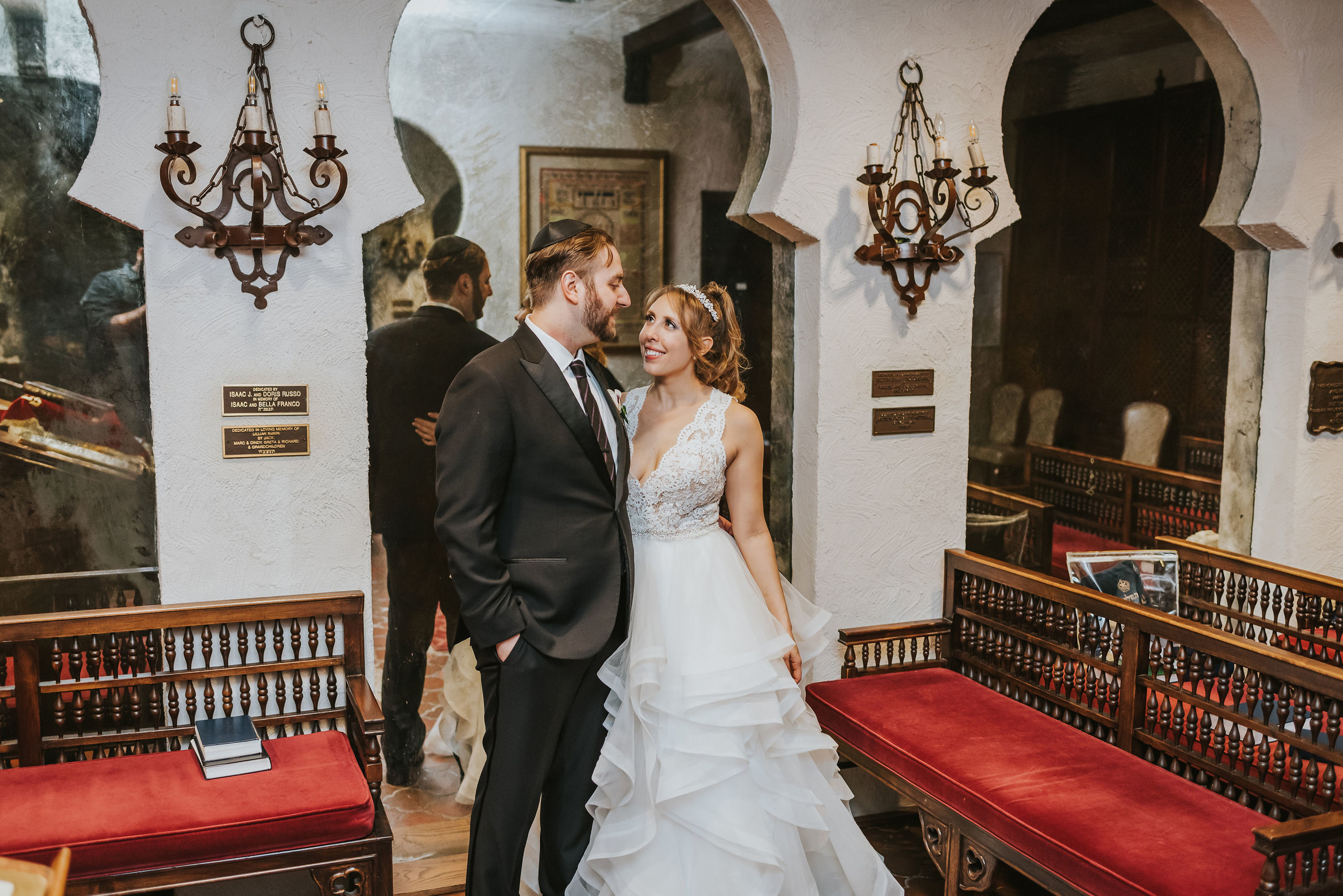 Ilyse and Max - The Sephardic Temple of Cedarhurst Wedding Long Island NYC 151.jpg