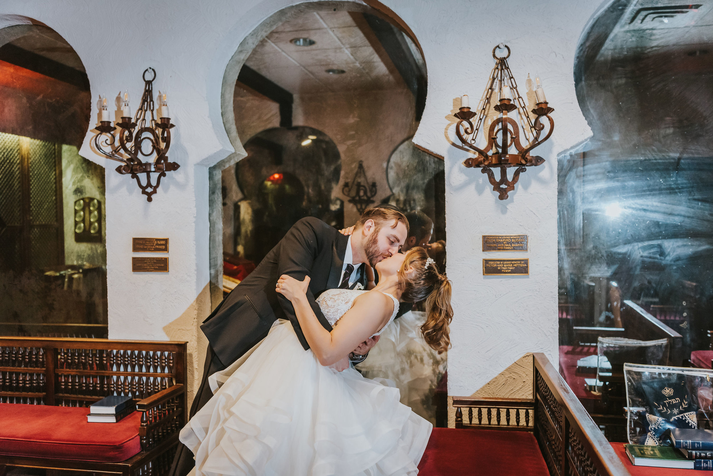 Ilyse and Max - The Sephardic Temple of Cedarhurst Wedding Long Island NYC 153.jpg