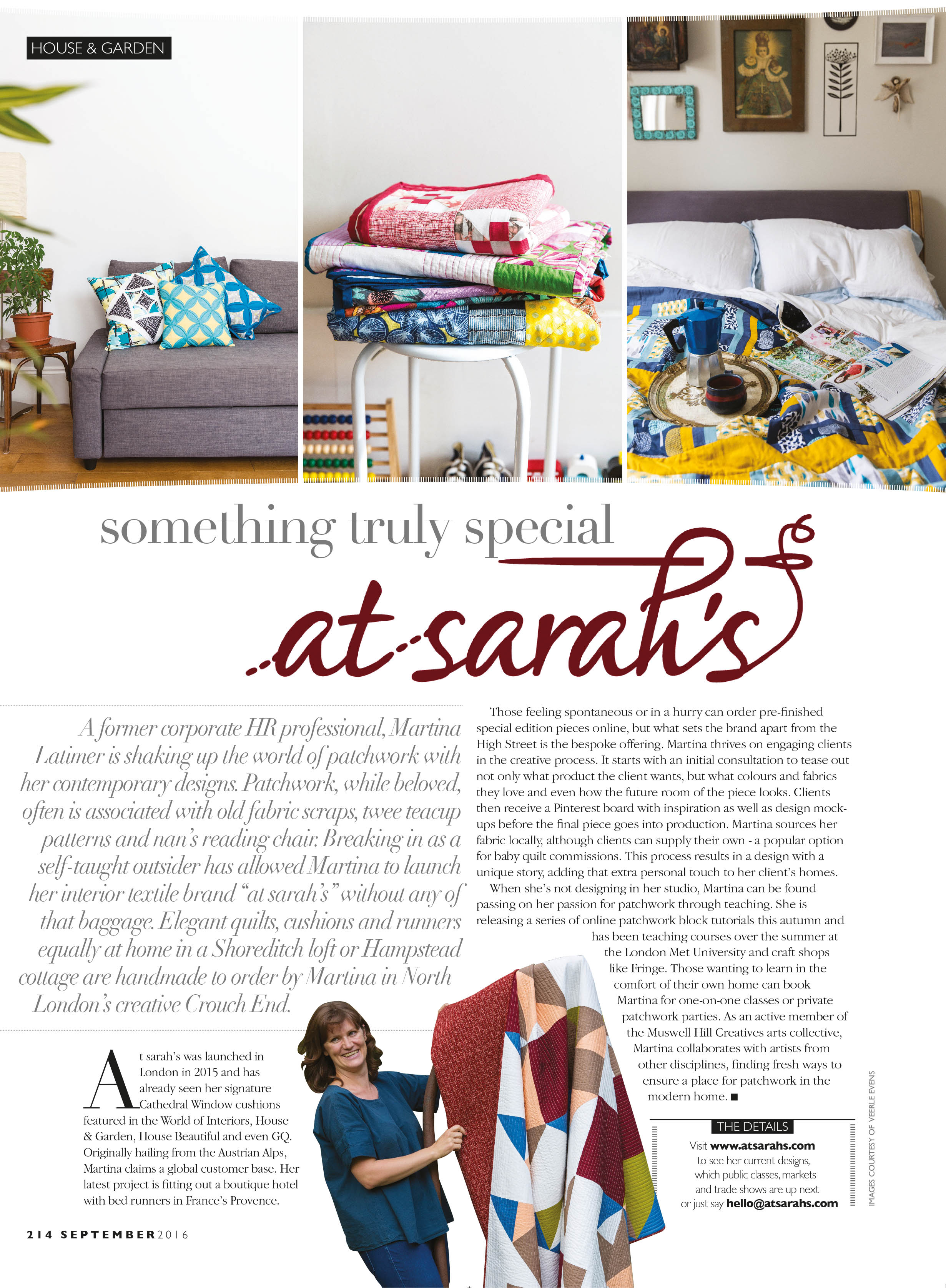 Hampstead Life September 2016    Lifestyle & portrait photography for  At Sarah's