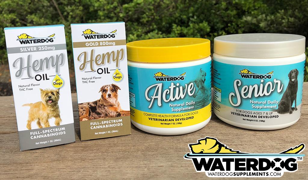 Waterdog Supplements Packaging