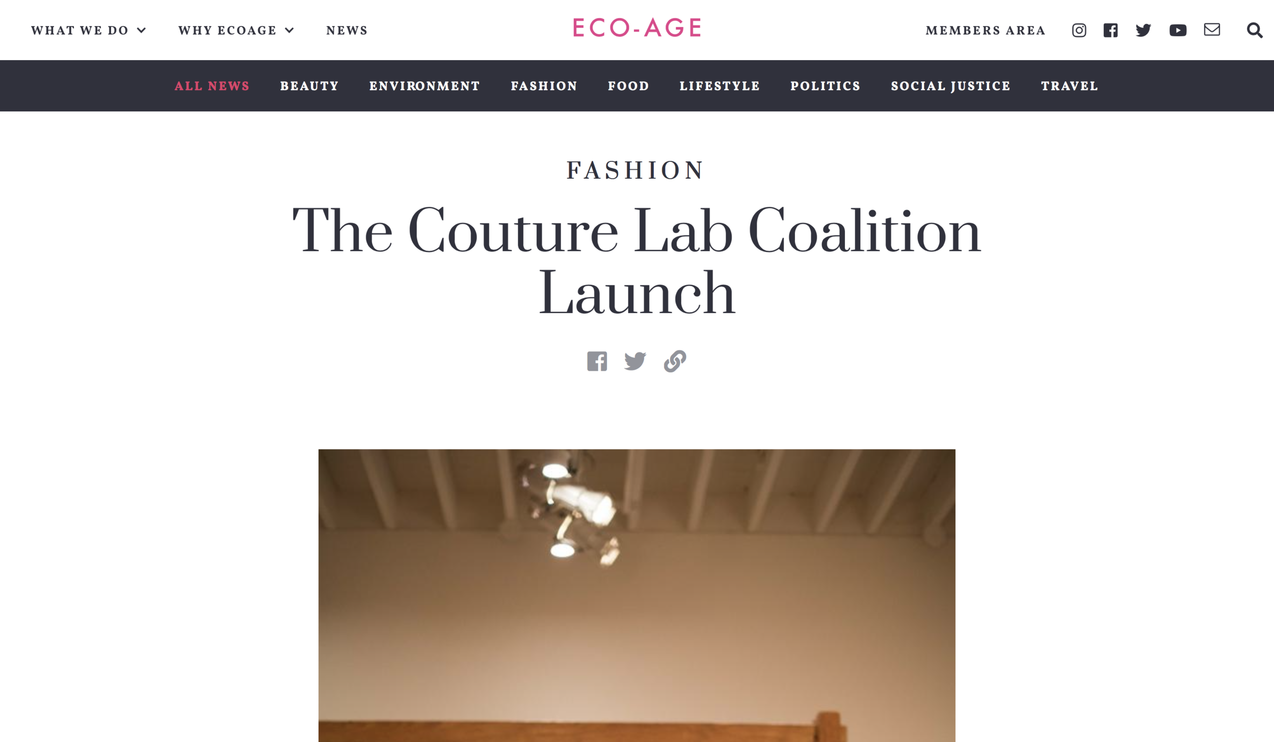 - The Couture Lab Coalition Launch(ECO Age)https://eco-age.com/news/couture-lab-coalition-launch
