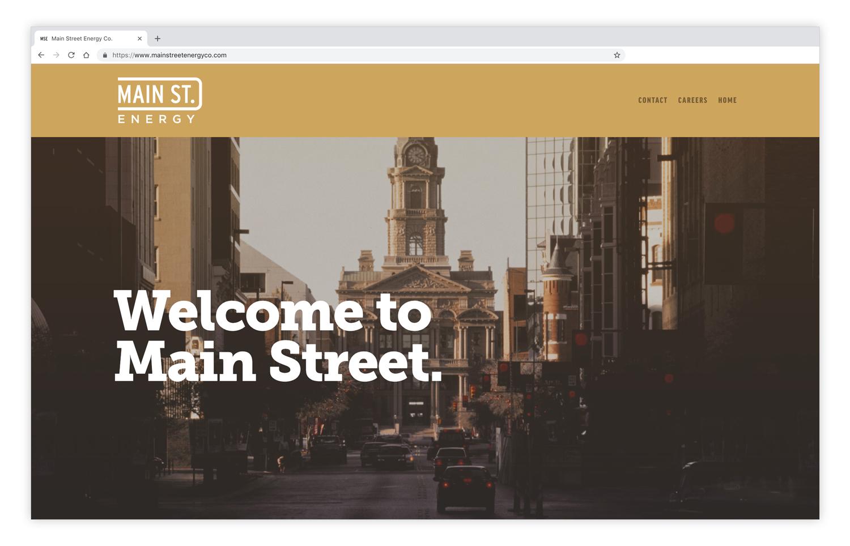 Main Street Energy  - Branding & Website
