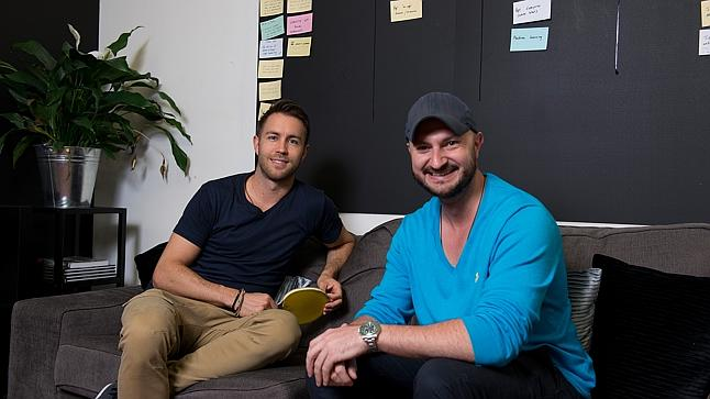 Right combination: Chad Stephens, left, brings the logistics skills and Chris Koch the power of persuasion. Photo: Jesse Marlow