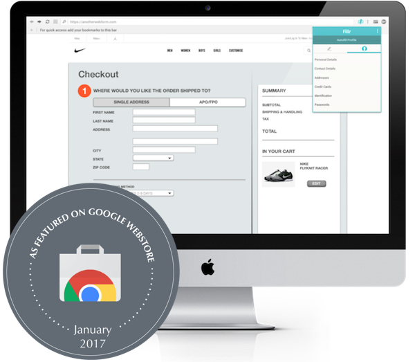 fillr featured on chrome webstore