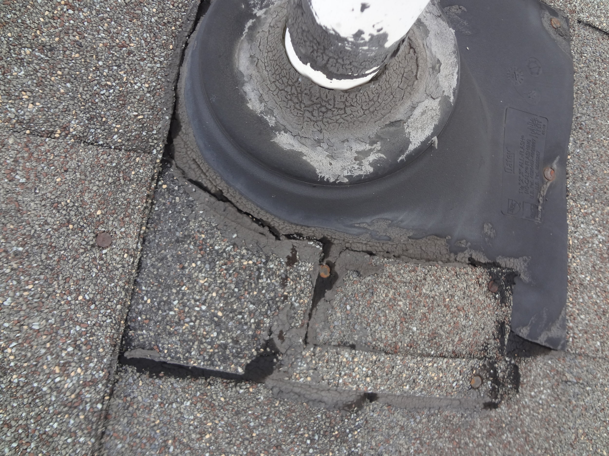 Finding defects on the roof -