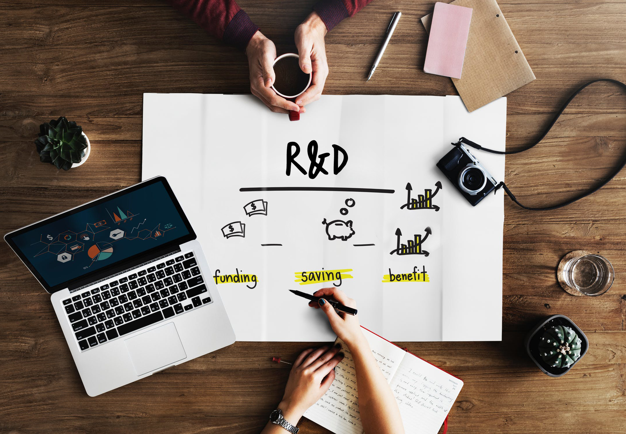 What is the R&D Tax Incentive? - Did you know that $100K spent on eligible R&D activity could provide a refund of up to $43.5K?*