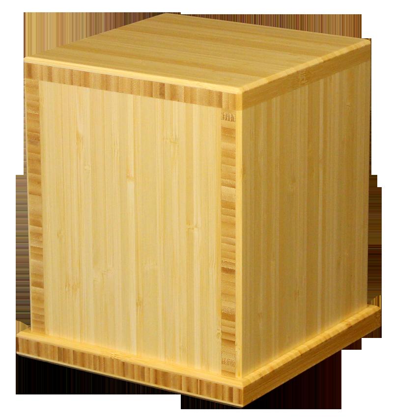 Traditional Bamboo Urn, Natural