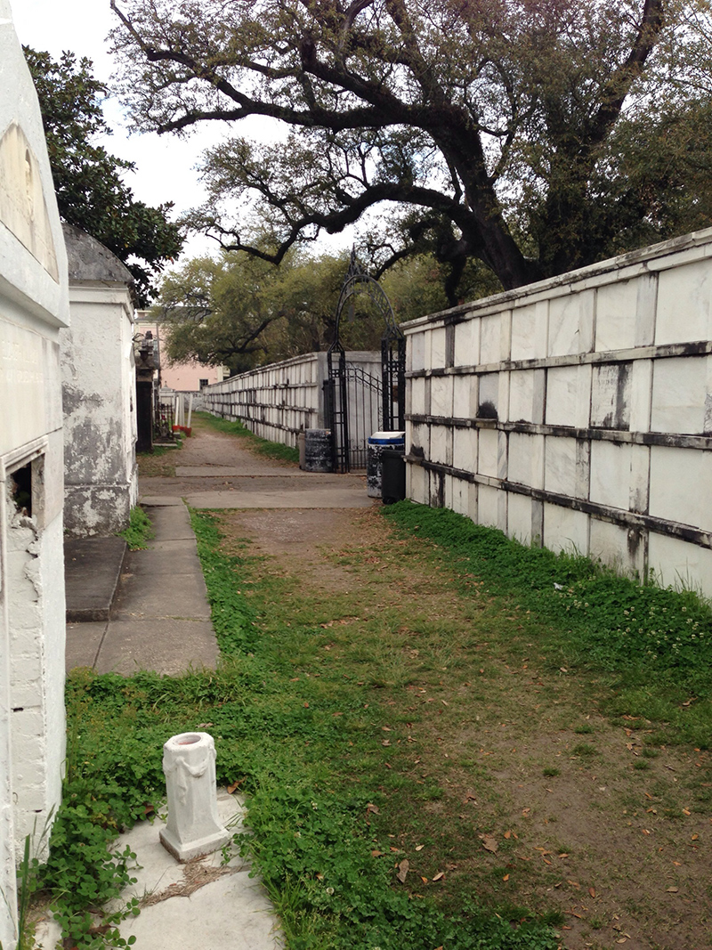 Wall Vaults, Lafayette Cemetery #1