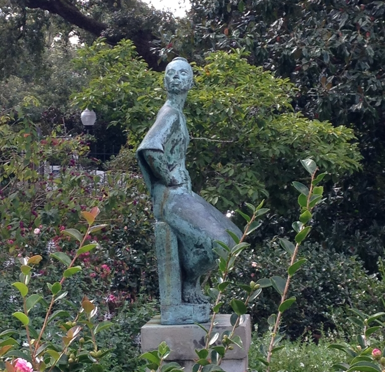 Ricky Alfarez sculpure, City park