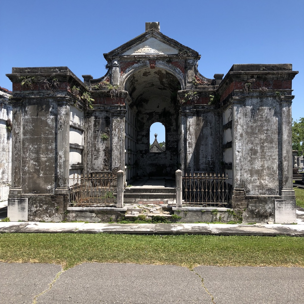 Italian Society Tomb in Metairie Cemetery