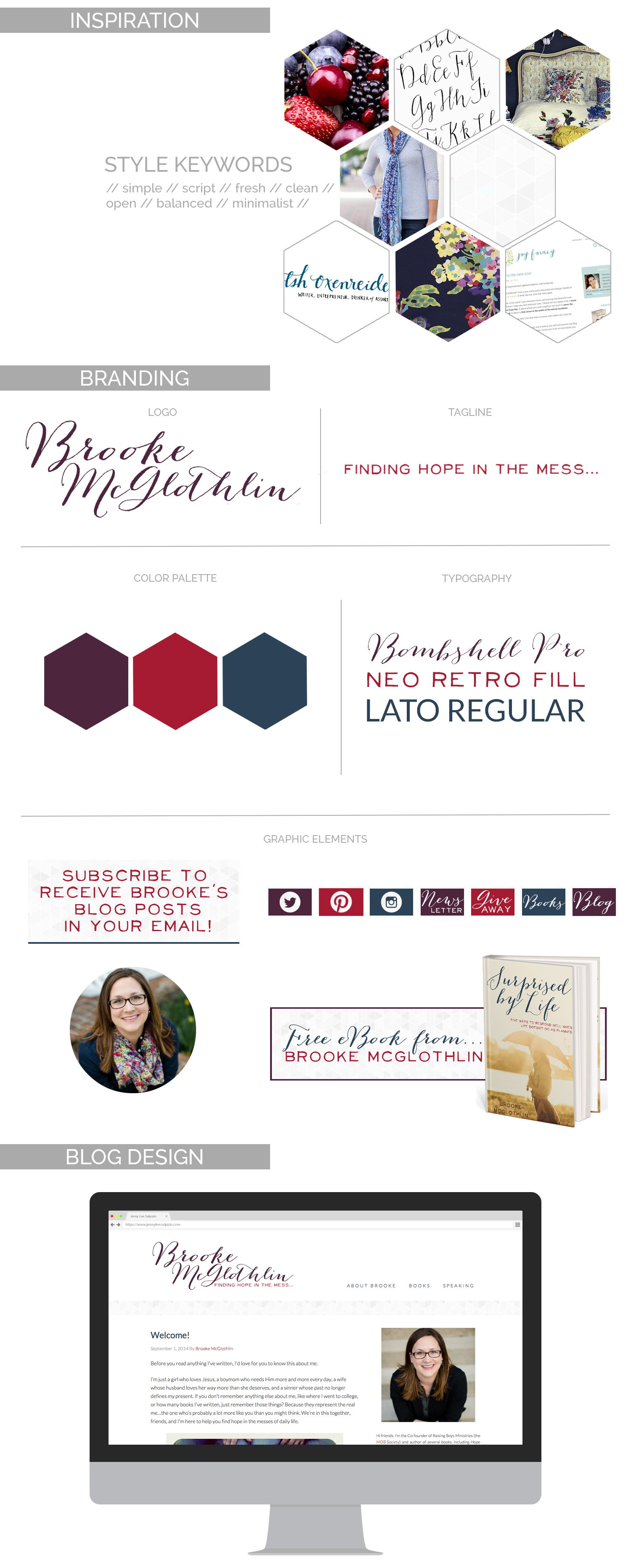 Brooke McGlothlin   Branding and Development by Finding Eden Media