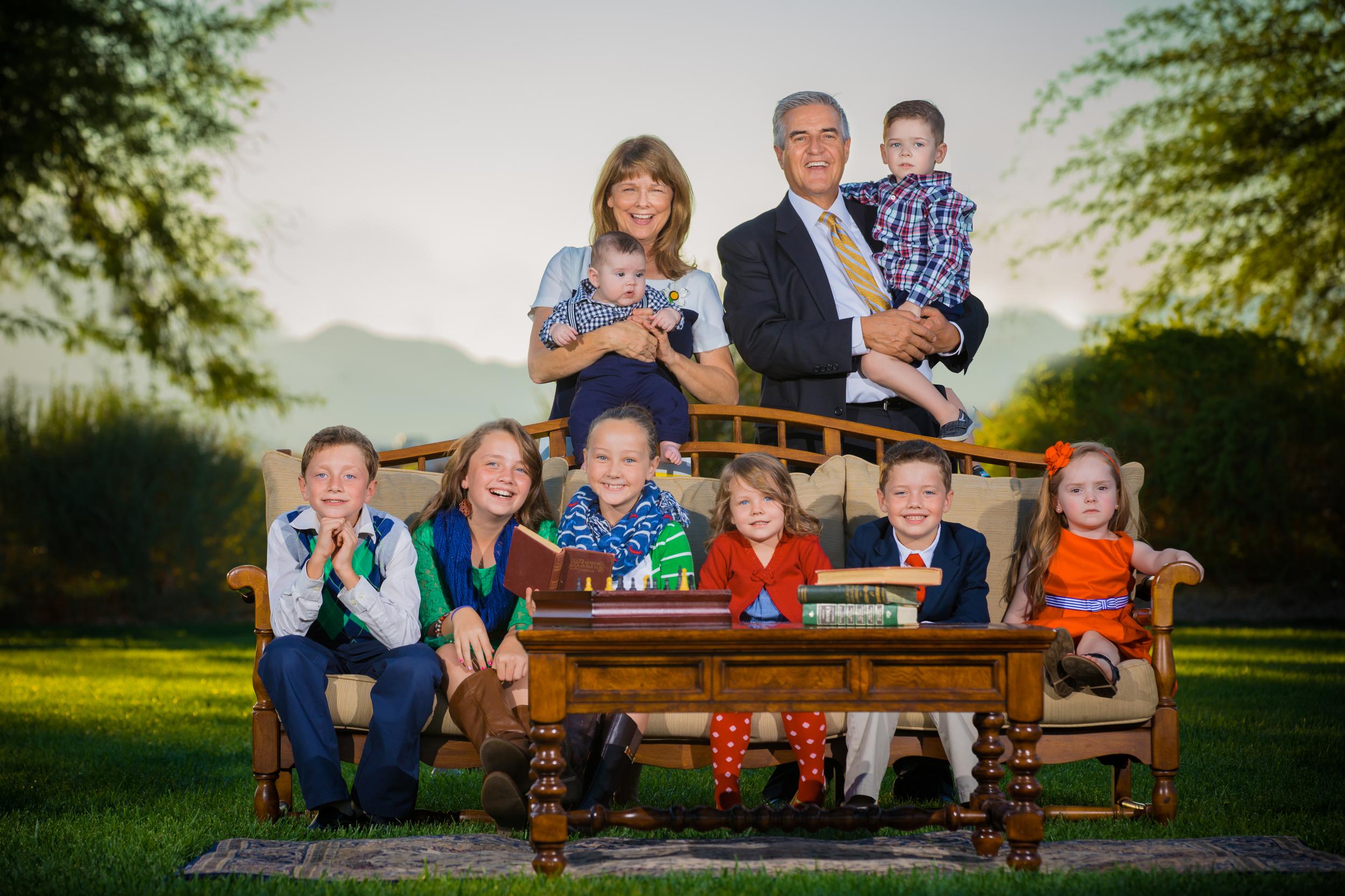 Las vegas family portrait photographer